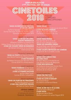 PROGRAMME CNETOILES 2018